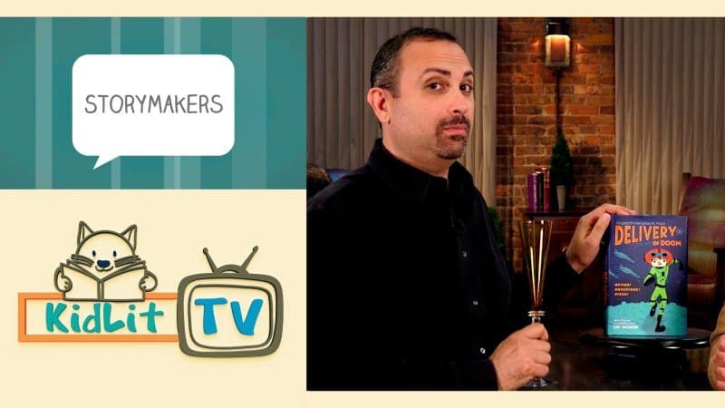 KidLit TV | StoryMakers with S. Dan Yaccarino Featured Image