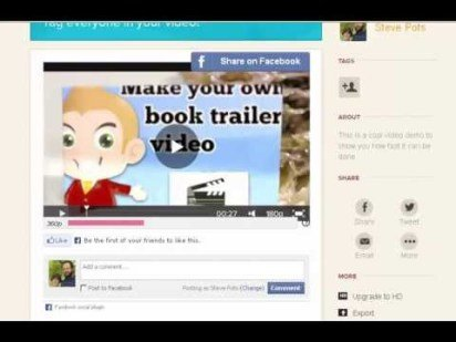 MAKING YOUR OWN FREE BOOK TRAILER TUTORIAL