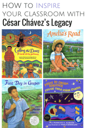 Cesar chavez childrens book
