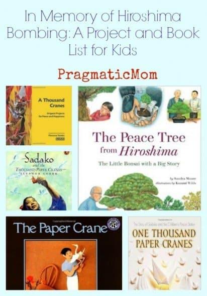 In Memory of Hiroshima Bombing Book List for Kids