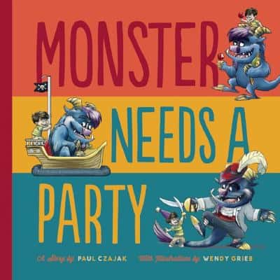 Monster Needs a Party Cover
