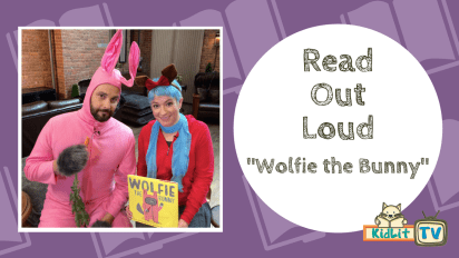 Read Out Loud | Ame Dyckman Reads 'Wolfie the Bunny'