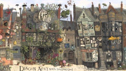 Jim Kay on illustrating the world of Harry Potter