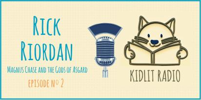 KidLit Podcast: Rick Riordan
