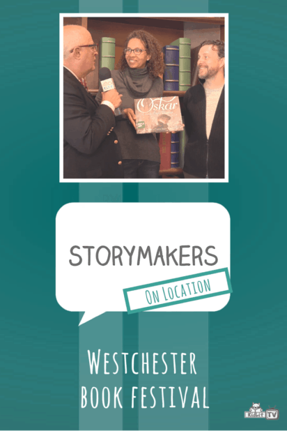 StoryMakers On Location - Westchester Book Festival Pinterest Image