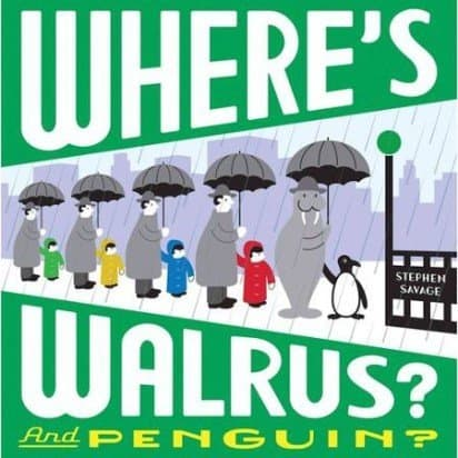 Where's Walrus? and Penguin? Cover