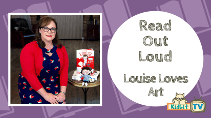 READ OUT LOUD - Kelly Light (Louise Loves Art)
