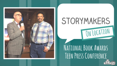 StoryMakers OnLocation | National Book Awards Teen Press Conference