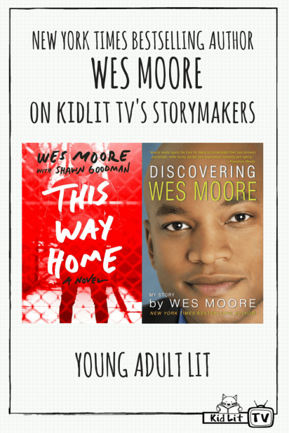 StoryMakers - Wes Moore Books Pinterest