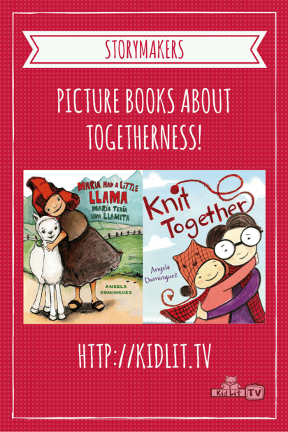 StoryMakers - Angela Dominguez (Maria Llama_Knit) Pinterest