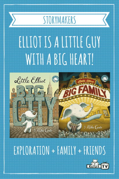 StoryMakers - Mike Curato (Little Elliot, Big City)