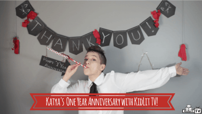 Katya Szewczuk's One Year Anniversary with KidLit TV