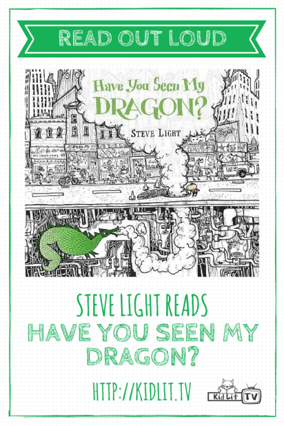 Read Out Loud - Steve Light reads Have You Seen My Dragon?