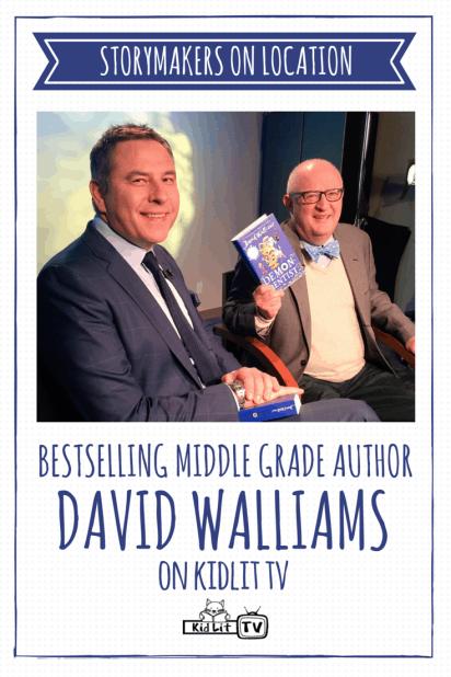 [P] StoryMakers On Location - David Walliams