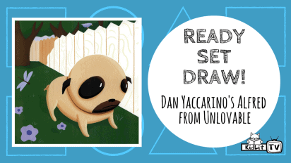 Ready Set Draw! | Dan Yaccarino Draws Alfred from 'Unlovable'