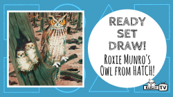 Ready Set Draw - Roxie Munro Draws An Owl Featured Image