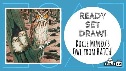 Ready Set Draw! | Roxie Munro's Owl from HATCH!