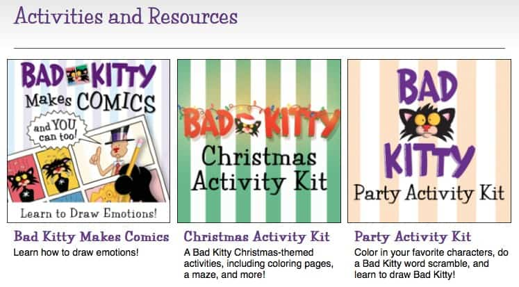 Bad Kitty - Nick Bruel - Activities and Resources