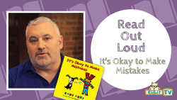 READ OUT LOUD - Todd Parr - It's Okay To Make Mistakes Featured Image