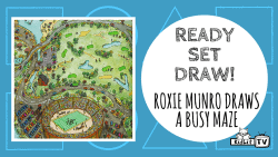 Ready Set Draw - Roxie Munro Maze