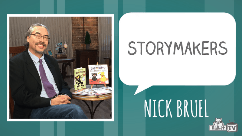 STORYMAKERS - Nick Bruel Featured Image