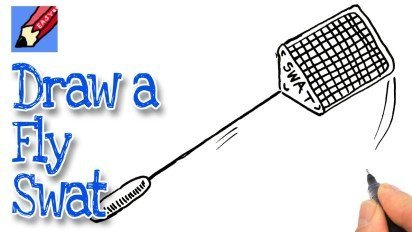 How to Draw a Fly Swat