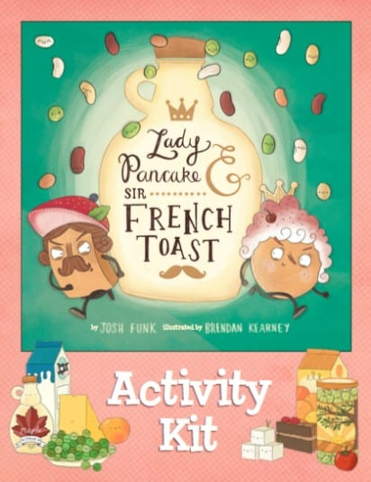 Mother's Day Special - Lady Pancake & Sir French Toast Activity Kit Cover