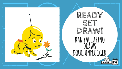 Ready Set Draw! | Dan Yaccarino Draws 'Doug Unplugged'