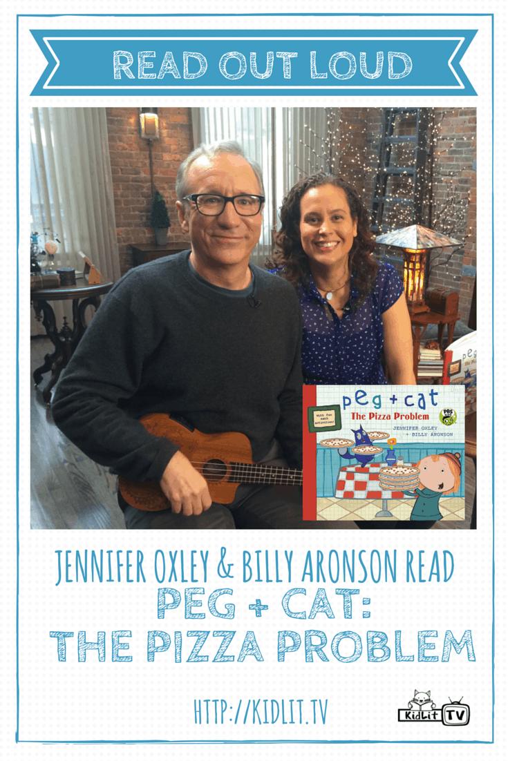 [P] READ OUT LOUD - Jennifer Oxley & Billy Aronson - Peg Plus Cat: The Pizza Problem