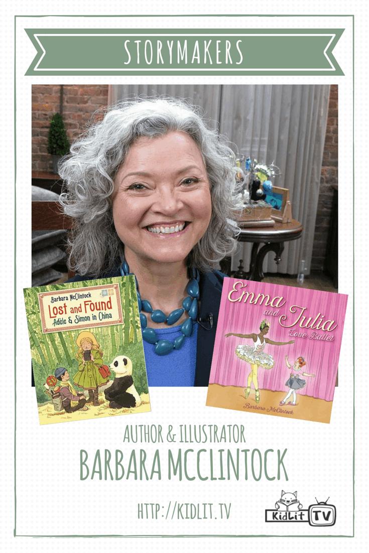 [P] STORYMAKERS - Barbara McClintock and Books