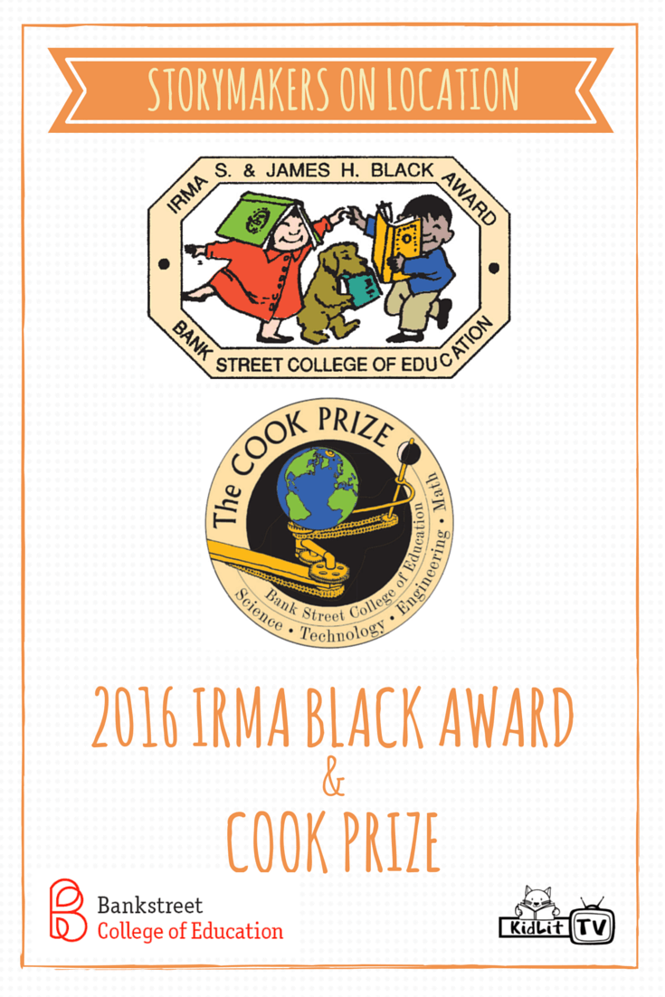 StoryMakers On Location - 2016 Irma Black Award and Cook Prize