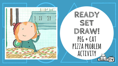 Ready Set Draw! Peg + Cat STEM Activity