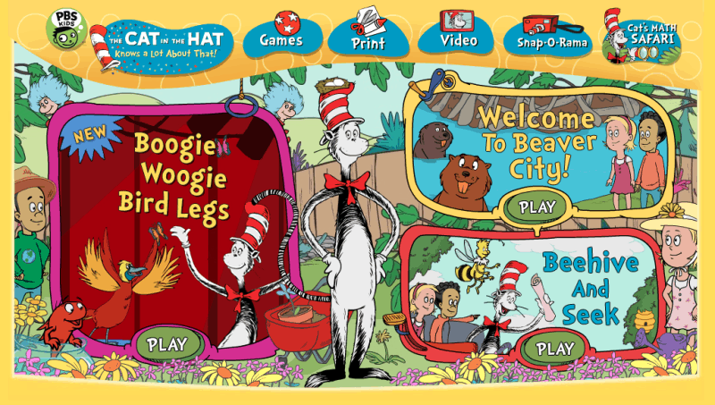 The Cat In the Hat Knows A Lot About That Website Image
