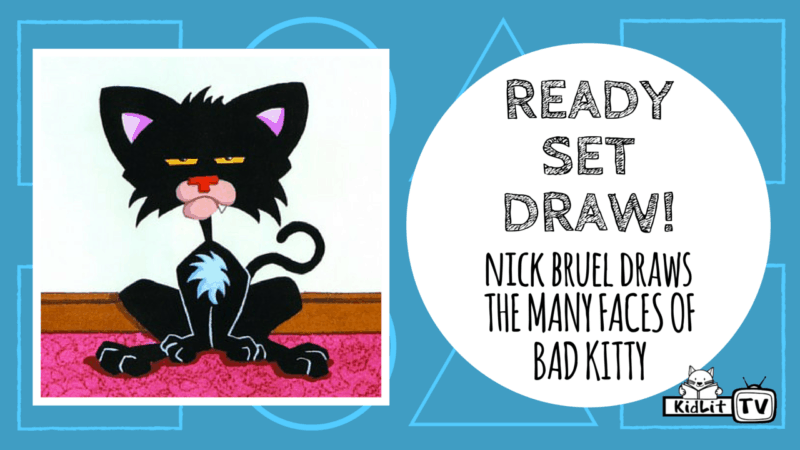 Ready Set Draw - Nick Bruel - Bad Kitty Featured