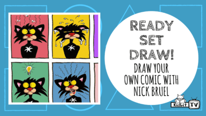 Ready Set Draw! Bad Kitty Makes Comics & You Can Too
