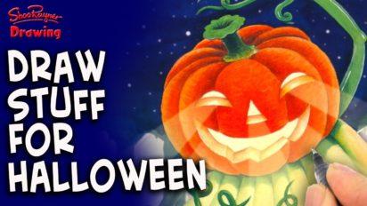 50 Halloween Drawing Ideas!