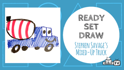 Ready Set Draw! MIXED-UP TRUCK