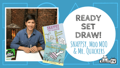 Ready Set Draw! How to Draw Snappsy, Moo Moo & More
