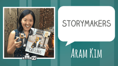 StoryMakers | Aram Kim's CAT ON THE BUS