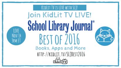 SLJ Best of 2016 LIVE STREAM!