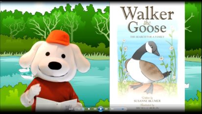 Storytime Pup | WALKER THE GOOSE