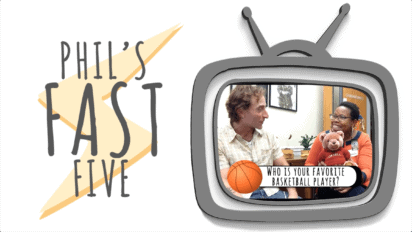 Phil's Fast Five with Bemi Perkovich