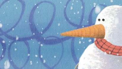 THE MOST PERFECT SNOWMAN   Book Trailer