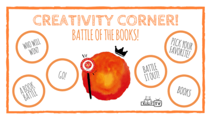 Creativity Corner | Battle of the Books