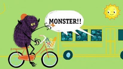 QUIT CALLING ME A MONSTER! Book Trailer