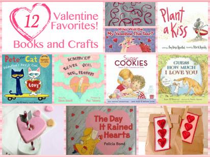 Valentine's Booklist with Craft Ideas