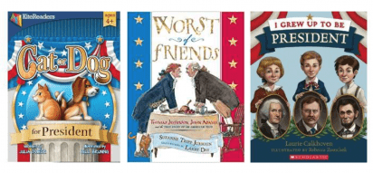 President's Day Booklists and Activities!