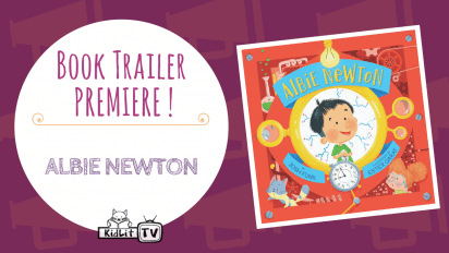 Book Trailer Premiere: ALBIE NEWTON!