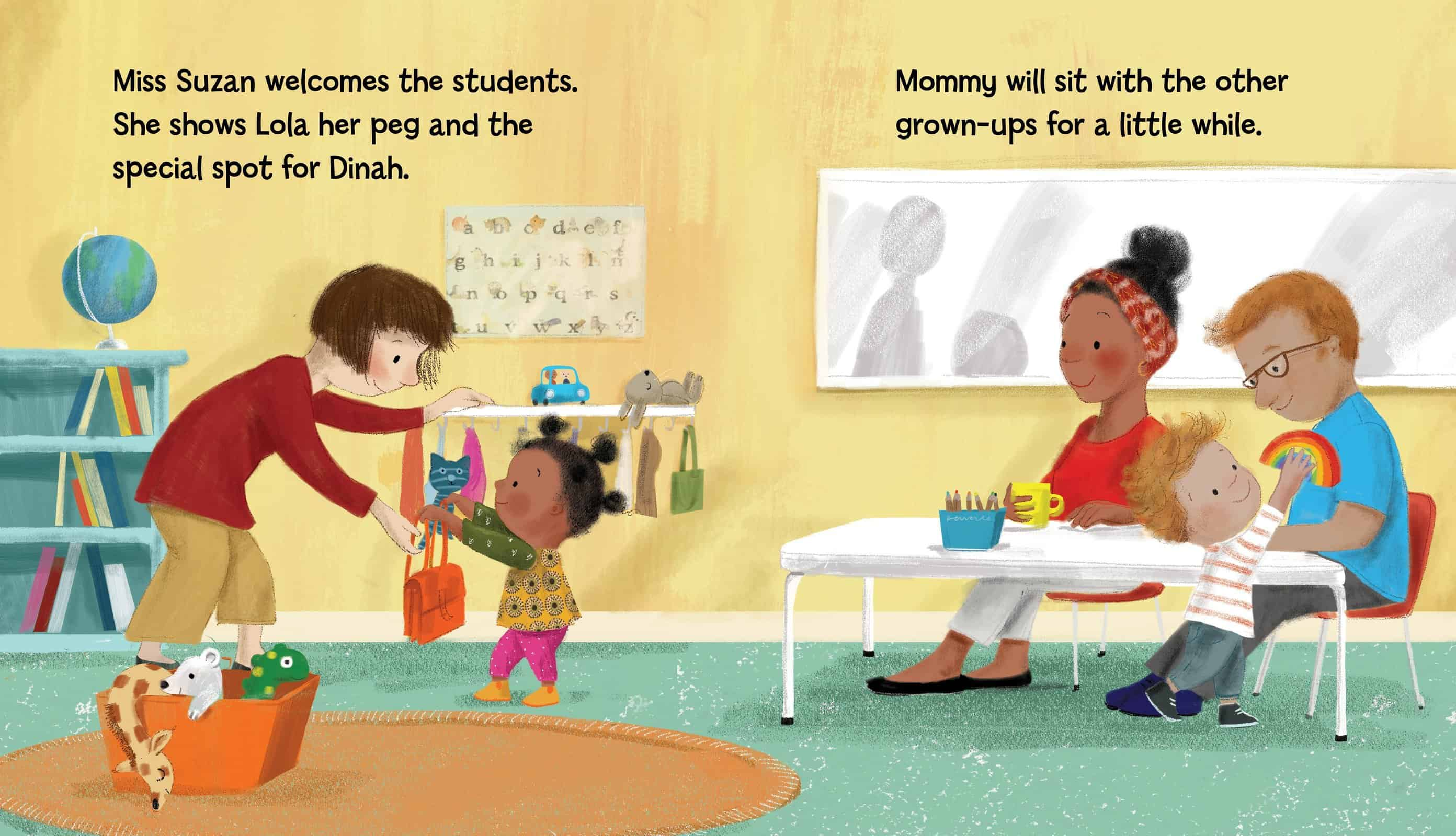 Everyones favourite reading role model is back! In LULU'S FIRST DAY, book-loving Lulu is excited to start pre-school.