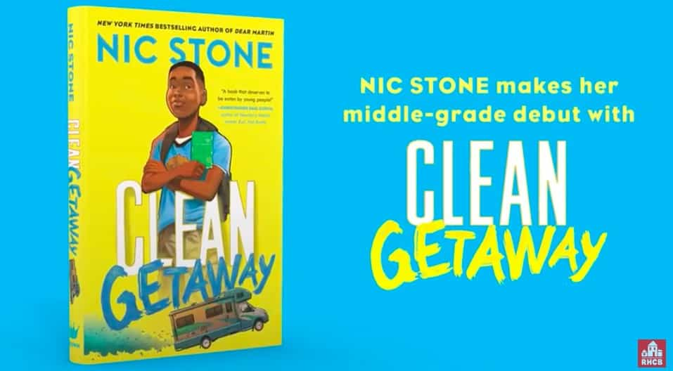 From New York Times bestselling author Nic Stone comes CLEAN GETAWAY middle-grade road-trip story through American race relations past and present,